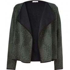 Masai Iri cardigan fitted long slv Emerald Org