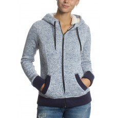 Superdry Storm Ziphood Penn Marl Blue