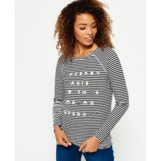Superdry Applique Raglan Top