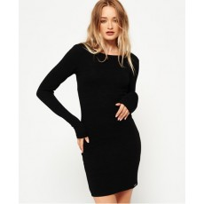 Superdry Augusta Bodycon Dress Black