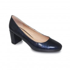 Lunar Hesta Blue Low Heel Court