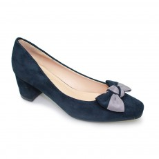 Lunar Marla Navy Bow Trim Court