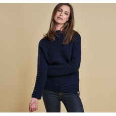 Barbour Linton Knit Navy