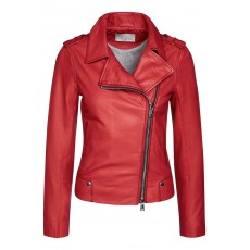 Oui Jacket Dark Red