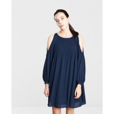 Vero Moda View LS Cold Shoulder Short Dress