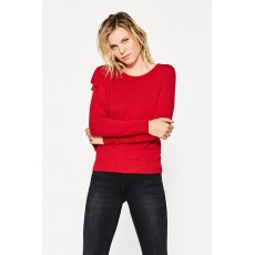 Esprit Sweater Volant Red