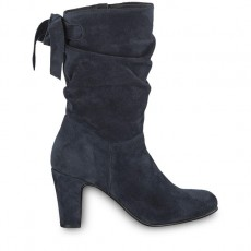 Tamaris Rouched Boot Navy