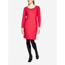 Sandwich Dress Jersey Pop Red