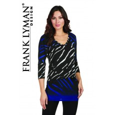 Frank Lyman Purple/Black Top