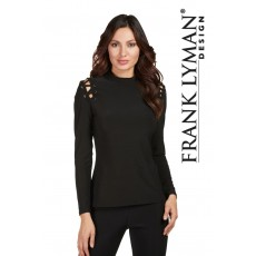 Frank lyman Top Black