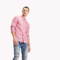 Tommy Hilfiger Basic Solid Shirt Salsa