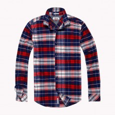 Tommy Hilfiger Denim RLX Check Shirt L/S Tommy Tartan Marshmallow