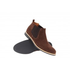 Lacuzzo Suede Chelsea Boot