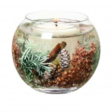 Stoneglow Wax Fishbowl Candle