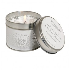Stoneglow Snow Topped Candle Tin