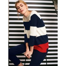 White Stuff City Stripe Jumper Navy Stripe