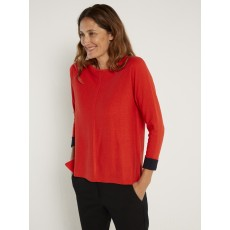 White Stuff Masterful Jumper Flame Red Pl