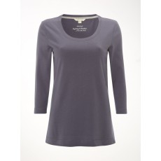 WhiteStuff 3/4 Brushed Layer Jersey Top