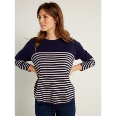 WhiteStuff Tilly Cashmere Jumper Navy St