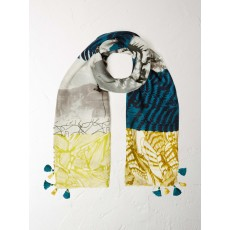 WhiteStuff Back to Nature Patchwork Scarf