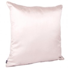 Faux Silk Cushions Taupe Pair