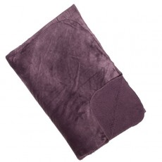 Cosy Fleece Throw Mauve