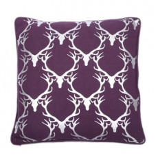 Dasher Foil Cushion Purple