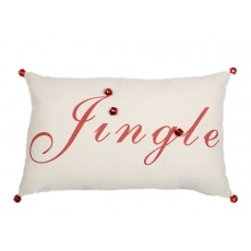 Jingle Word Cushion With bells