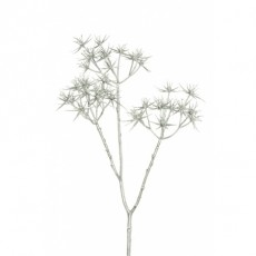 Sparkle Star Flower Silver 62cm