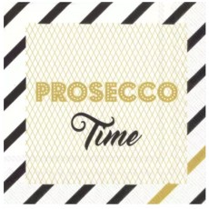 Prosecco Time Cocktail Napkins Gold