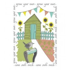 Grow Your Own Tea Towel