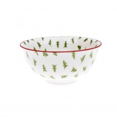 Sophie Allport Patterned Bowl Christmas Trees