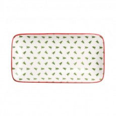 Sophie Allport Patterned Rectangular Plate Christmas Trees