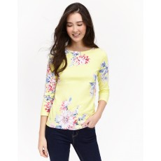 Joules Harbour 3/4 length Sleeve Jersey Printed Top