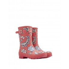 Joules Molly Welly Pink Floral