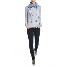 Oui Jeggings Raw Denim