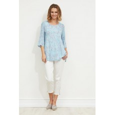 Masai Kiwi top Long sleeve Aqua Org