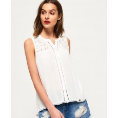 Superdry Bobbie Button Blouse