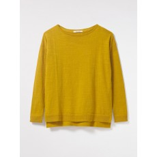 White Stuff Savanna Jumper Egg Yolk Pl