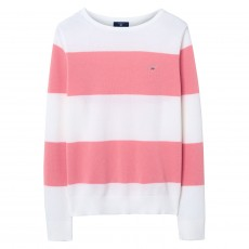 Gant Cotton Piqué Block Stripe Sweater