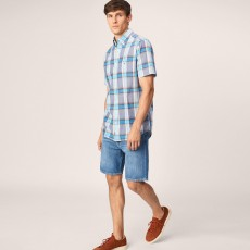 Gant Short Sleeved Indian Madras Shirt