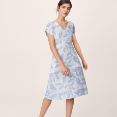 Gant Airy Leaf Dress