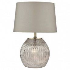 Sonia Table Lamp Antique Silver
