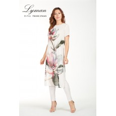 Frank Lyman Top Rose/Grey