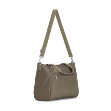 Amiel True Beige Medium Handbag