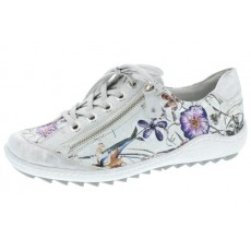 Remonte Plimsoll Ice/Off White Floral