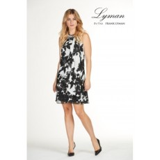 Frank Lyman Dress Black/White