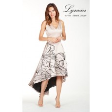 Frank Lyman Dress Nude/Black