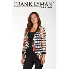Frank Lyman Jacket Black/White/Red