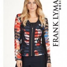 Frank Lyman Jacket Navy Multi